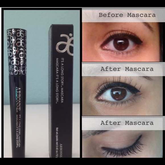 29a88022266 Makeup   Arbonnes Its A Long Story Mascara   Poshmark